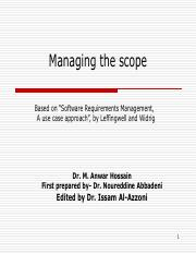 10 - Managing Scope.pdf