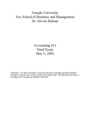 2005 Spring Accounting_011_Spring_2005___final_exam