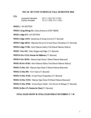 NES18+Section+Schedule+2010