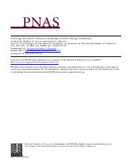 Powering the Planet-N.Lewis & D. G. Nocera PNAS 103-43-15729-15735-2006.pdf