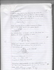 Normal Distributions Notes Page 1