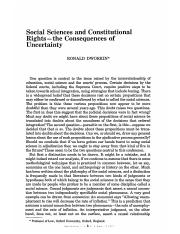 DWORKIN, Ronald. Social sciences and constitutional rights.pdf