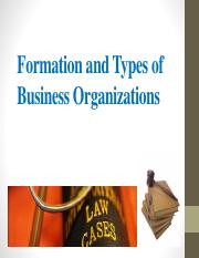 Week 6 - Formation and Types of Business Organizations.pdf