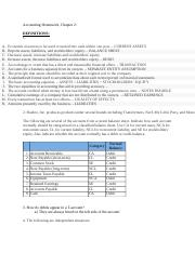 Accounting Homework Chapter 2 Balance Sheet.docx