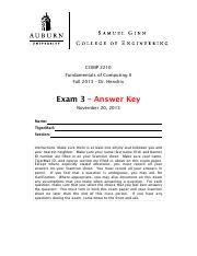 COMP 2210 - Hendrix - Fall 2013 Exam 1.pdf