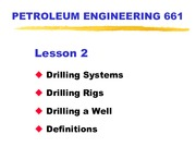 2. Rigs, Drilling a Well-2ndREVISION