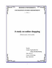 [Full] Online shopping research.doc