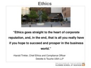 Weeks 13.14 Ethics Lecture