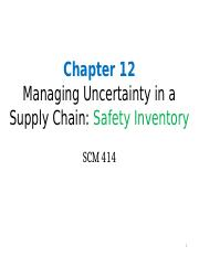 Chapter 12-Stochastic Inventory Model-Complete version