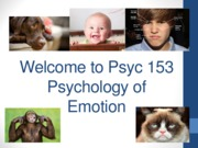 Psyc 153 W15 1 Introduction