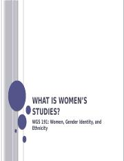 WGS 191- What is Womens Studies(3).pptx