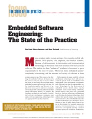 2_Embedded Software Engineering The State of the Practice