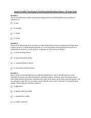 SPCH 1311 Lesson 9 Conflict Chapter 7 and 8 Study Guide.docx