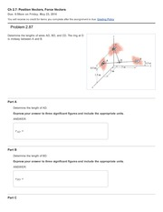 03 Ch 2.7 - Position Vectors and Force Vectors