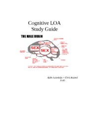 Cognitive LOA Study Guide