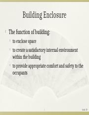 03a Building Enclosure.ppt