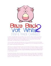 Item And Trade Changes Pdf Item Trade Changes As With The First Blaze Black And Volt White Many Of The Item Balls You Pick Up Around The Region Have Course Hero The move however, is usually a tm or hm move. course hero