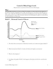 control of blood sugar levels pogil answers 28 Control of Blood Sugar Levels-S.pdf - Control of Blood Sugar ...