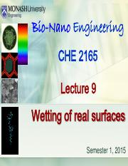 Lecture 9- Wetting of Real Surfaces (Sunway 2015).pdf