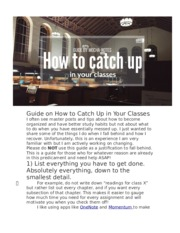 Guide on How to Catch Up in Your Classes.docx