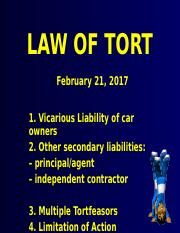 tort(miscell)