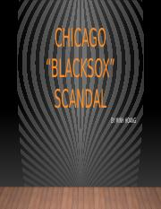 Black Sox Scandal.pptx