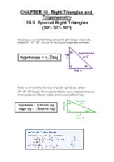 10.3 Special Right Triangles Part 2