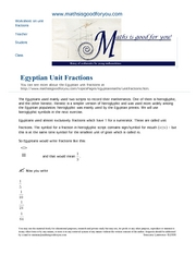 egyptianfractions