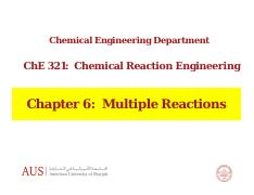 Chpater 6 - Multiple Reactions.pdf