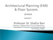 LEC 3_Architectural Planning_2003