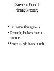 Lecture 2 - Financial Forecasting.pptx