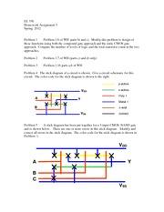 3 Ee 330 Homework Assignment 3 Fall 2007 Problem 1 The Stick