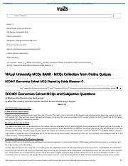 ECO401 Economics Solved MCQ Shared by Sobia Manzoor G.pdf