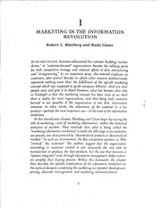 5.- MARKETING IN THE INFORMATION REVOLUTION, R. BLATTBERG