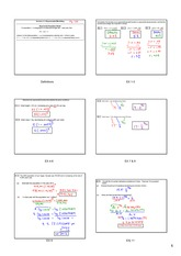 exponential modeling notes