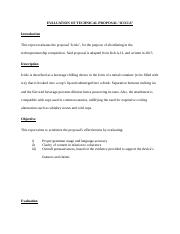 ASSIGNMENT 2, EVALUATION REPORT, PT2