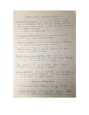 stimulus (class notes)