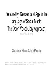 SLIDES Personality, Gender, and Age in the Age of Social Media.pdf