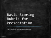 12.2 Rubric for Presentation Week Class Note