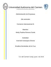 inversion extranjera directa.docx