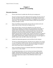 Ch. 2 Review of Accounting