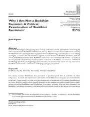 Why I am not a Buddhist Feminist.pdf