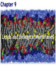 Chapter 9_ Lipids and Membrane