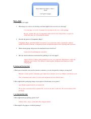 Study Guide 2 for Quiz 2