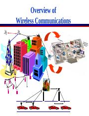 chapter 1 - Intro to Wireless Communications Systems