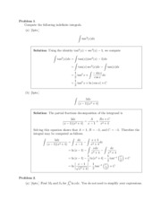 Math 31B Midterm 2 Solutions