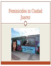 Day 29 Feminicides in Ciudad Juarez.pptx