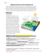 Kami Export - Biogeochemical Cycles Webquest 1.pdf - Name ...