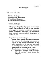 L-13.IBFS.Mortgages