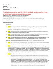 Jumania Ahmed Report Outline 2.doc
